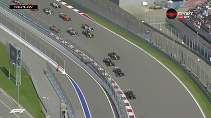 Големи катастрофи още в първите завои на Гран При на Русия
