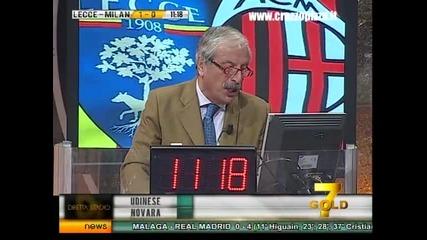 Lecce - Milan 3-4 Lud Komentator 3