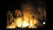 Испания продължава борбата с мащабни горски пожари