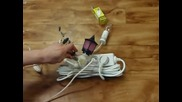 Безплатен ток само с 1 разклонител и малко хитрост (видео)