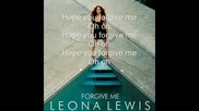 Leona Lewis - Forgive Me (officail Cd Cover Picture)