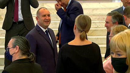 Румен Радев се срещна с акредитирани посланици