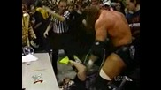 Triple H Vs. Big Show - Wwf Title