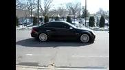 Mercedes - Benz Clk 63 black windows