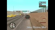 Mercedes 124 420km/h On Gta San Andreas