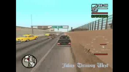 Mercedes 124 420km/h On Gta San Andreas