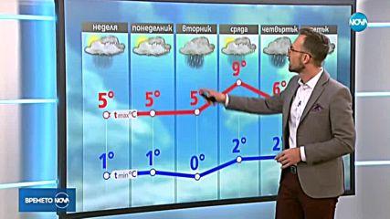 Прогноза за времето (20.01.2019 - обедна)