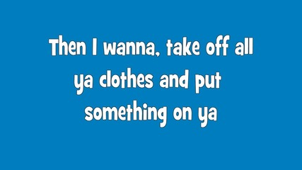Usher - Scream [screen lyrics hd]