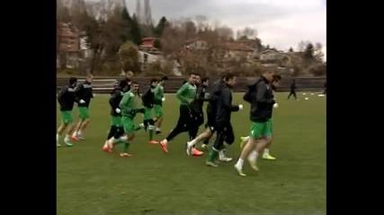 В Лудогорец без проблеми преди мача срещу ЦСКА