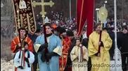 Йордановден Хвърляне на кръста във Варна 06.01.2013