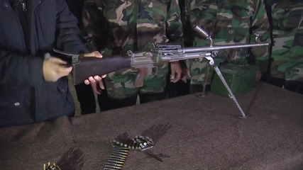 Syria: Pro-government forces train volunteer fighters in Latakia