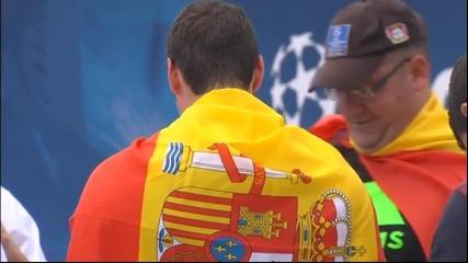 Нашествието на фенове в Лисабон започна