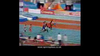 Лека Атлетика - Дуейн Чеймбърс - 6.42 Сек. Er (полуфинал) В Торино 2009