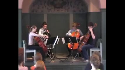 Live String Quartet [ Muse - Time Is Running Out ]