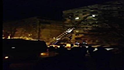 Русия: Най-малко две жертви при експлозия на газ в блок