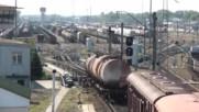 Как функионира Ж П - гърбица за бързо композиране на товарните влакове