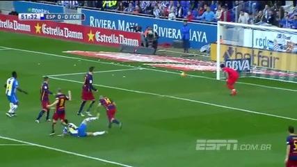 Еспаньол 0:0 Барселона 02.01.2016