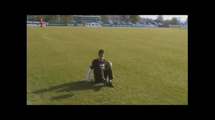Ivailo Freestyle на Стадиона в Благоевград