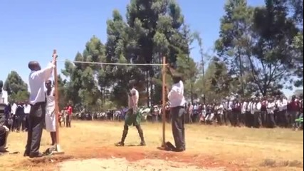 High School Jumpers from Kenya