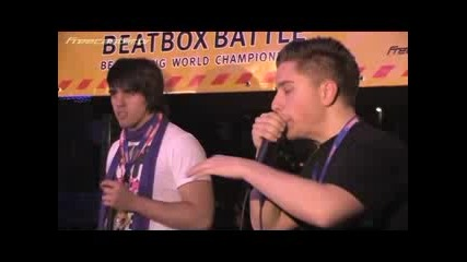 Bodizzle & Misko - Germany [beatbox Battle Convention]
