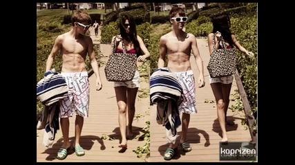 Джъстин и Селена плажен ден в Хавай [sun]