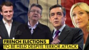 French election candidates and their promises