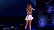 Ariana Grande - Last Christmas - at Michael Buble's Live Christmas - New York (2014)
