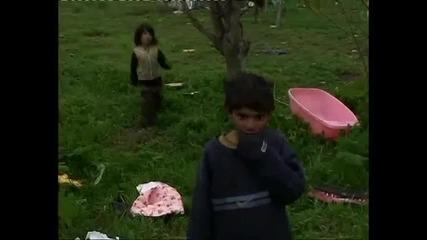 Циганин пее и псува детето си : D
