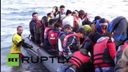 Greece: 150 refugees rescued after boat sinks off coast of Lesbos