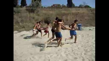 Състезание на плажа