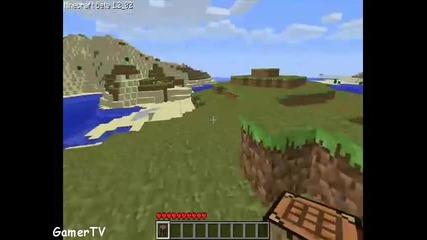 Minecraft episode 1 - Какво трябва да направите за да оцелеете първата вечер
