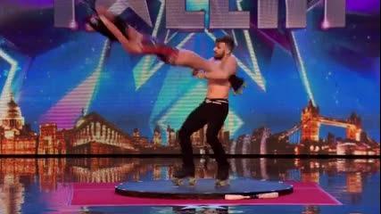 Невероятно!!! Най-зрелищното изпълнение в Britain's got talent