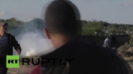 State of Palestine: Tear gas canisters fly in Gaza on anniversary of Arafat's death