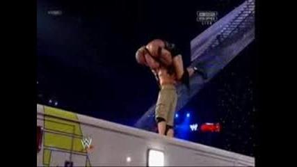 Победителят в мача между Джон Сина и Райбак на турнира Разплата