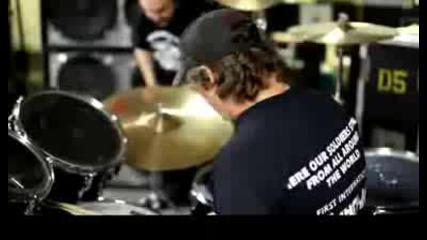 Manowar 2009 drummer Donnie Hamzik