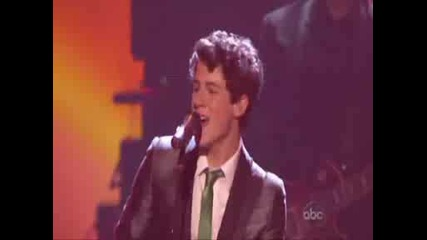 Jonas Brothers - Tonight, Live At American Music Awards 2008