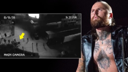 Surveillance video from the night of Aleister Black's attack: WWE.com Exclusive, Aug. 16, 2018