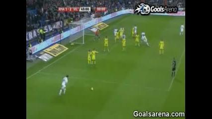Real Madrid vs Villarreal 4 2 All Goals Full Match Highlights [912011]