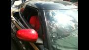 Антонио Бандерас върти Lotus Evrora S на Gum Ball 3000 в София