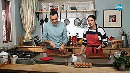 Печени картофи с плънка от сирене и маслини - Бон Апети (10.01.2018)
