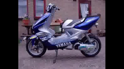 Yamaha Aerox Tunning (pictures)