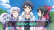 Isekai wa Smartphone to Tomo ni . Opening - Another World