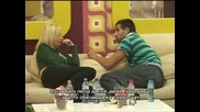 Big Brother4 - Настъпления! Денислав Не Оставя На Мира Иванина