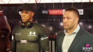 Anthony Joshua And Kubrat Pulev Face Off In Cardiff