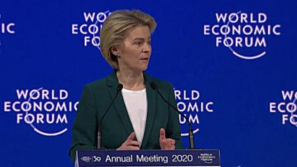 Switzerland: Europe needs 'credible military capabilities' - von der Leyen