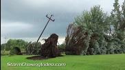 Разрушително торнадо и последиците след него в Окръг Бентън, Минесота 24.8.2014