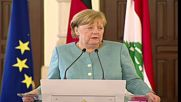 Lebanon: Merkel says Syria conditions must improve before refugees return