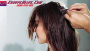 Europe Hairs - как се поставят стикери за коса