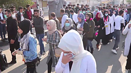 Iraq: Thousands join anti-government protest in Basra