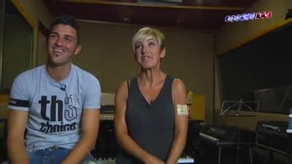 Fc Barcelona - David Villa canta por los ninos de Mali